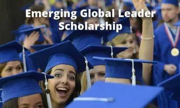 Стипендия Emerging Global Leader Scholarship от American University